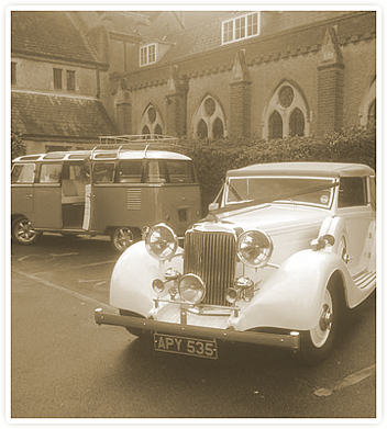 Kent Wedding car hire